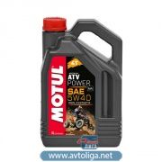 Моторное масло MOTUL ATV Power 4T 5W40