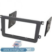 Рамка VW Golf 5, Polo new, Amarok, Touran, Jetta, Passat B6,B7, Tiguan, SKODA Fabia new (99-9011)